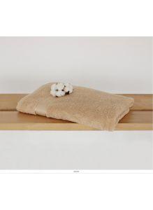 Полотенце махровое размер 150х100 см Рисунок Светло- натуральный 01100