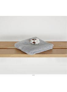 Полотенце махровое размер 150х100 см Рисунок Серый тон 14-4102