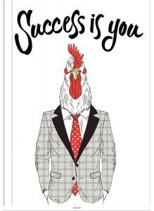 Блокнот для хипстеров «Success is you»