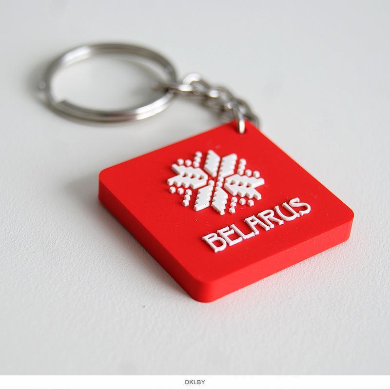 Брелок красный «BELARUS ARNAMENT»