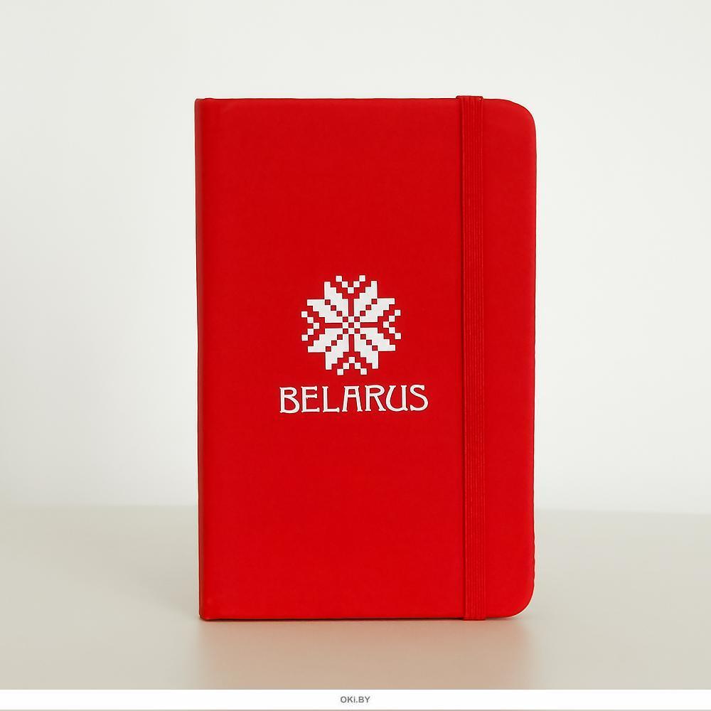 Блокнот «BELARUS ARNAMENT», красный