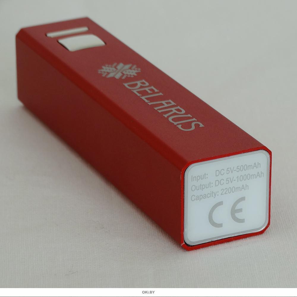 Power-bank «BELARUS PATTERN», красный