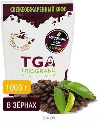 Кофе свежеобжаренный «Бонджорно Блэк» в зернах, 1000г