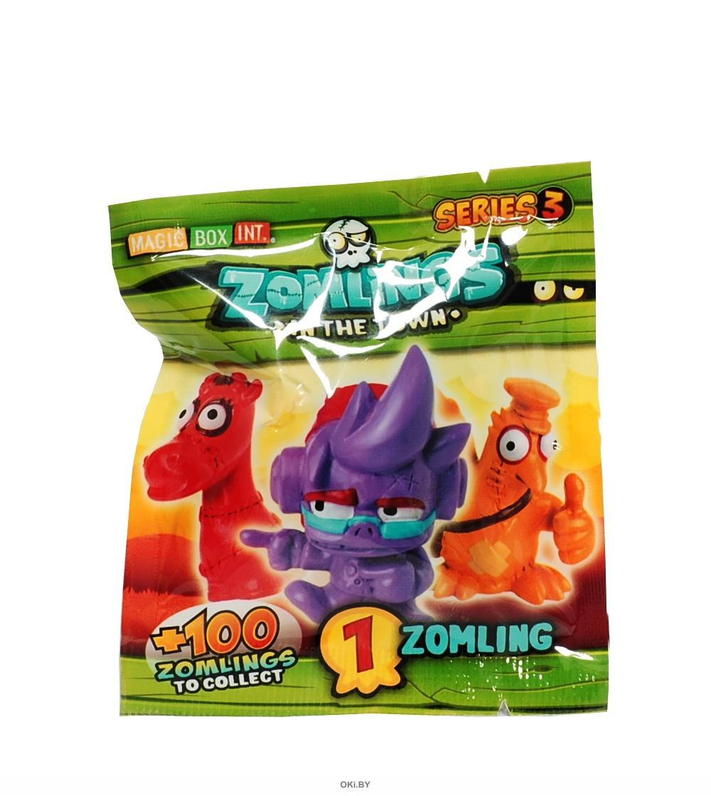 Фигурка «Zomlings in the town» 3 серия (арт. ZM30101)