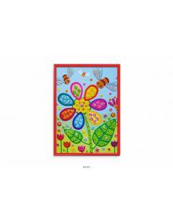 Сверкающая мозаика. Цветочек