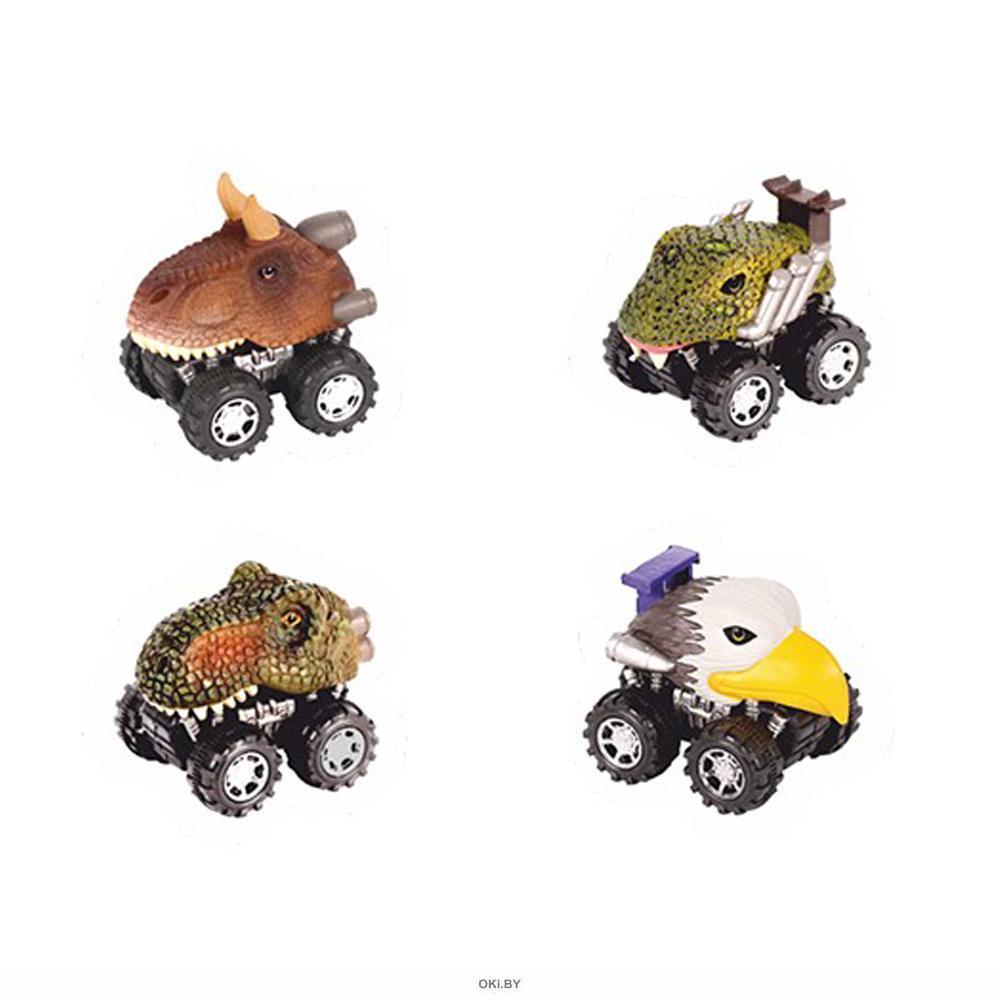 Зверокары «Джипы» - игрушка машинка (в ассортименте)