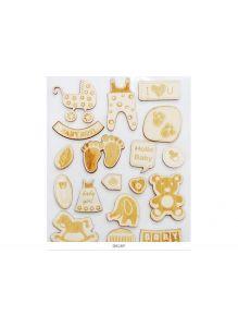 2750-SB Деревянные чипборды «Сказочное Детство»