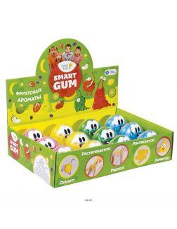 Пластилин для детской лепки «smart gum» ароматный (hg02, genio kids-art)