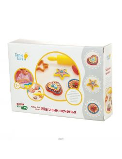 Набор для детской лепки «магазин печенья» (ta1038v, genio kids-art)