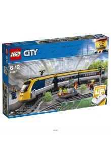Пассажирский поезд (Лего / Lego city)
